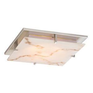 Plaza Faux Alabaster 11-Inch Recessed Light Shade