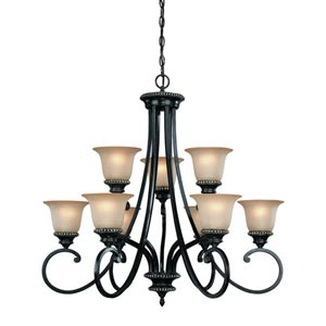 Hastings Phoenix Nine-Light Chandelier