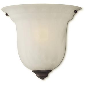 Richland Royal Bronze Large Flush One-Light Wall Sconce