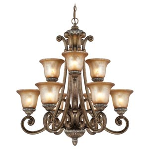 Carlyle Verona Nine-Light Chandelier