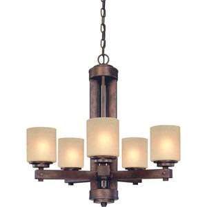 Sherwood Sienna Five-Light Chandelier