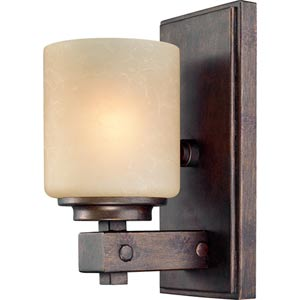 Sherwood Sienna One-Light Wall Sconce