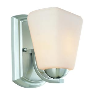 Hammond Satin Nickel One-Light Wall Sconce