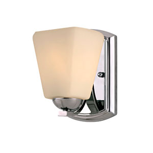 Hammond One-Light Chrome Bath Sconce