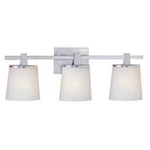 Ellipse Satin Nickel Three-Light Bath