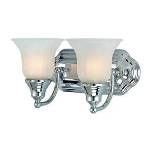 Richland Chrome Two-Light Bath Light