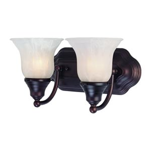 Richland Royal Bronze Two-Light Bath Light