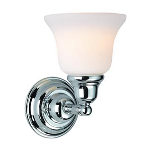 Brockport Chrome One-Light Wall Sconce