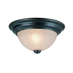 Fireside Bolivian One-Light Flush Mount