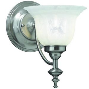 Richland Satin Nickel One-Light Wall Sconce