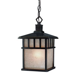Barton Winchester Small One-Light Outdoor Pendant