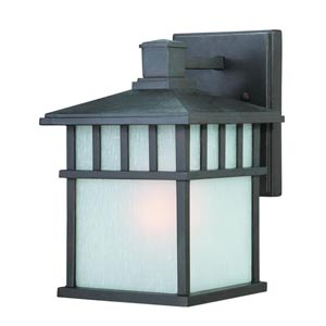 Barton Olde World Iron Medium One-Light Outdoor Wall Light