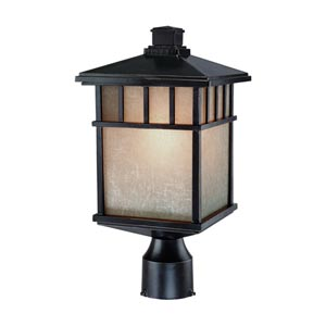 Barton Winchester Small One-Light Outdoor Post Light