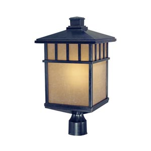 Barton Winchester Large One-Light Outdoor Post Light