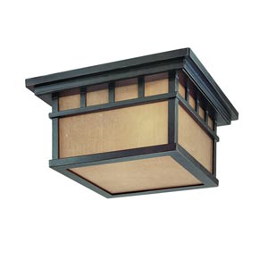 Barton Winchester Two-Light Outdoor Flush Mount