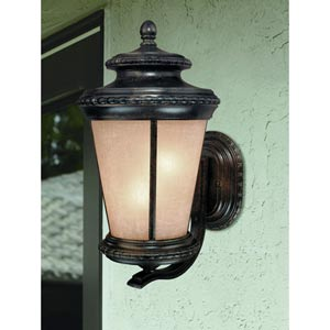 Edgewood Manchester Upward Three-Light Outdoor Wall Light