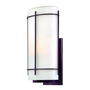 Pacifica Old World Iron Exterior Wall Light - 19.5 Inches