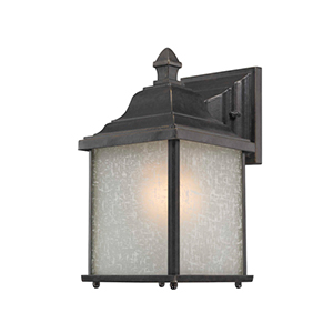 Charleston Winchester 10.5-Inch One Light Exterior Wall Mount