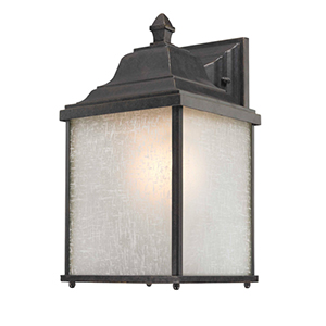Charleston Winchester 13-Inch One Light Exterior Wall Mount
