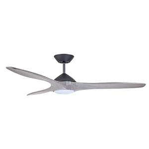 Lindbergh Graphite LED 60-Inch Eco Ceiling Fan