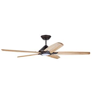 Dorian Oil Rubbed Bronze LED 60-Inch Eco Ceiling Fan
