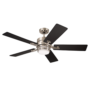 Brushed Steel Amhurst LED Ceiling Fan