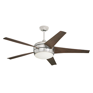 Brushed Steel Midway Eco LED Ceiling Fan