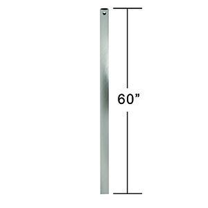 Brushed Steel 5-Feet Downrod