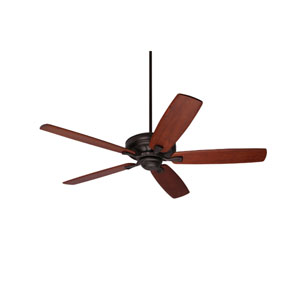 Carrera Grande Eco Oil Rubbed Bronze EcoMotor 60-Inch Ceiling Fan with Walnut Solid Wood Blades