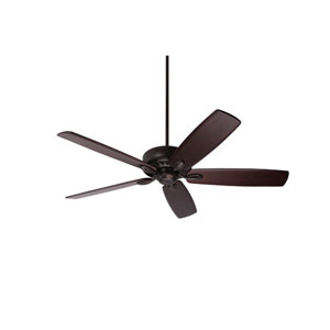Avant Eco Oil Rubbed Bronze Energy Star EcoMotor 60-Inch Ceiling Fan with Dark Mahogany Solid Wood Blades