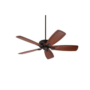 Avant Eco Oil Rubbed Bronze Energy Star EcoMotor 54-Inch Ceiling Fan with Dark Oak Classic Hand Carved Blades