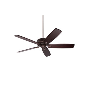 Avant Eco Venetian Bronze Energy Star EcoMotor 60-Inch Ceiling Fan with Dark Mahogany Solid Wood Blades