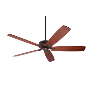 Avant Eco Venetian Bronze Energy Star EcoMotor 72-Inch Ceiling Fan with Walnut Solid Wood Blades