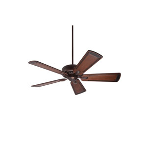 Avant Eco Venetian Bronze Energy Star EcoMotor 54-Inch Ceiling Fan with Walnut Hand Carved Art Deco Blades