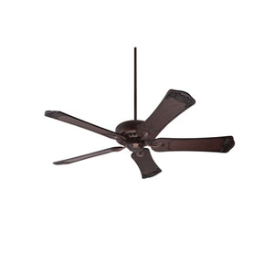 Avant Eco Venetian Bronze Energy Star EcoMotor 60-Inch Ceiling Fan with Dark Walnut Hand Carved Ornate Blades
