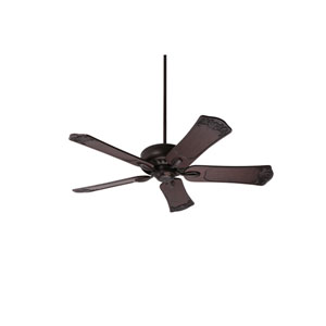 Avant Eco Oil Rubbed Bronze Energy Star EcoMotor 54-Inch Ceiling Fan with Dark Walnut Hand Carved Ornate Blades