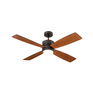 Oil Rubbed Bronze LED Highrise Ceiling Fan