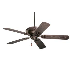 Devonshire Oil Rubbed Bronze 52-Inch Indoor/Outdoor Ceiling Fan