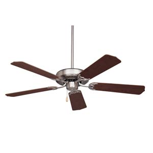 Pro Series Builder Brushed Steel 52-Inch Energy Star Ceiling Fan