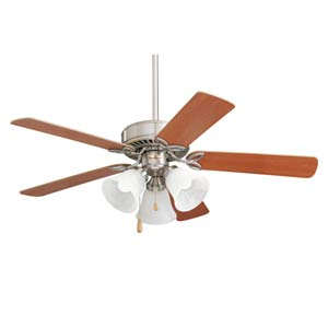 Brushed Steel 42-Inch Pro Series II Ceiling Fan