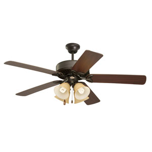 Pro Series II 50-Inch Oil Rubbed Bronze Ceiling Fan