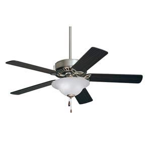 Pro Series Brushed Steel 50-Inch Ceiling Fan