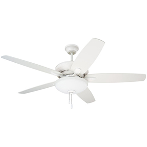 Pro Series Satin White Three Light Ceiling Fan