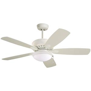 Prima Satin White Energy Star Ceiling Fan