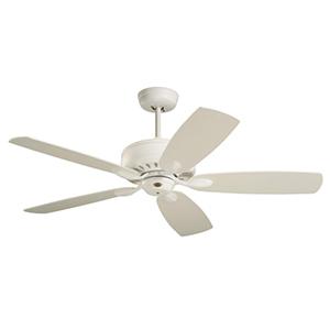 Avant Eco Satin White Energy Star Ceiling Fan