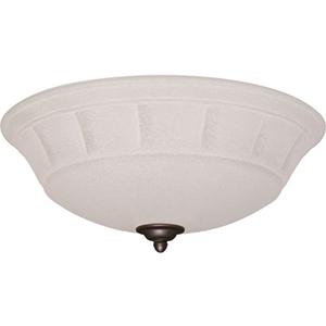 Grande Brass Three Light Ceiling Fan Kit
