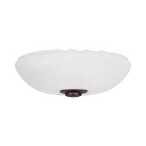 Harlow Venetian Bronze Three Light Ceiling Fan Kit
