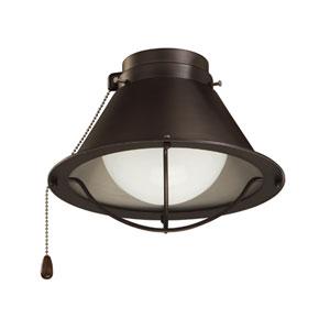 Seaside Oil Rubbed Bronze Wet Location Ceiling Fan Light Kit