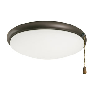 Oil Rubbed Bronze Moon Ceiling Fan Light Fixture