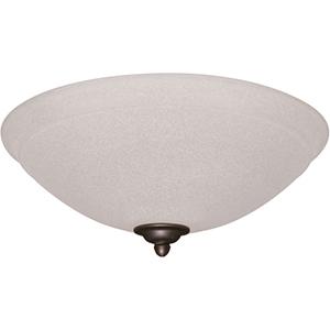 Antique Pewter Ashton Amber Mist LED Ceiling Fan Light Fixture